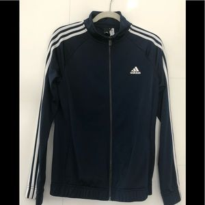 Adidas Full Zip Warm Up Jacket